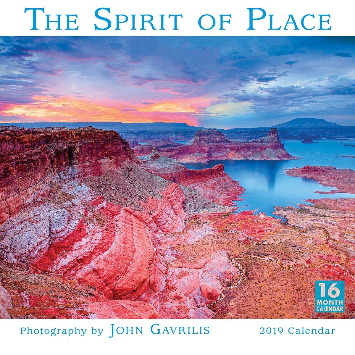 2019 The Spirit of Place 16-Month Wall Calendar: by Sellers Publishing, 12x12 (CA-0407) Calendar – Wall Calendar, Jun 22 2018 John Gavrilis Inc. 1531904076 /