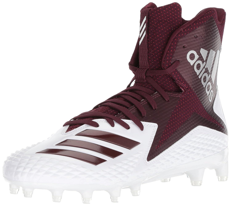 adidas Men's Freak X Carbon Mid Football Shoe B07234L571 8.5 D(M) US|White/Maroon/Maroon