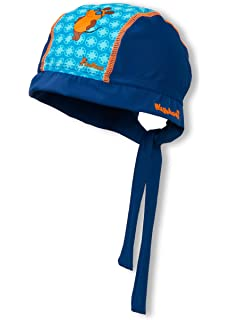 Playshoes Boys UV Sun Protection Hat Swim Cap Beanie Ahoi