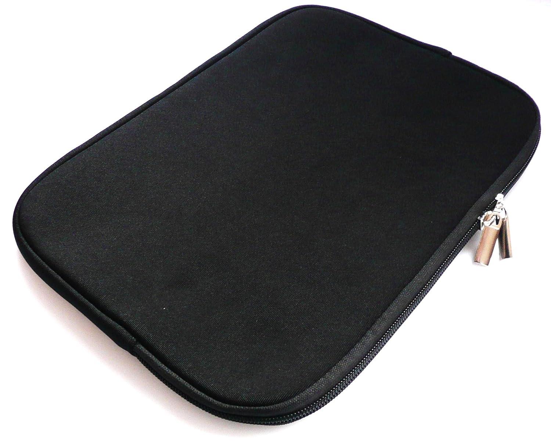 Emartbuy/® ASUS Transformer Mini T102HA 10.1 Pollice Nero//Rosa Impermeabile Morbido Neoprene con Chiusura a Zip Case Cover con Rosa Interno /& Cerniera Lampo 10-11 Pollice Tablet//Netbook