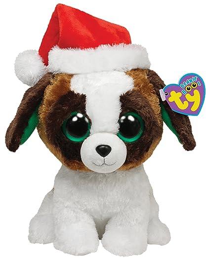 c7eb6ab9c07 Ty Beanie Boos Presents - Dog with Hat Medium