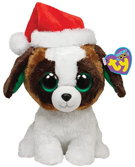 Ty Beanie Boos Presents - Dog with Hat Medium