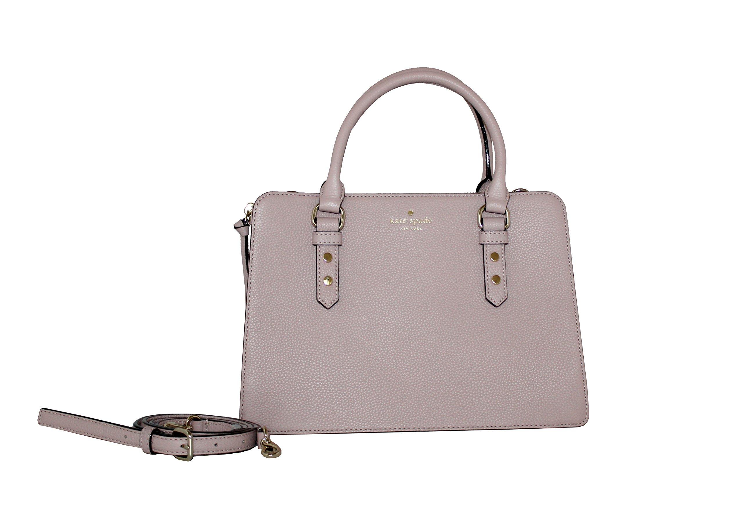 Kate Spade New York Lise Mulberry Street Satchel Crossbody Pebble Leather Handbag by Kate Spade New York