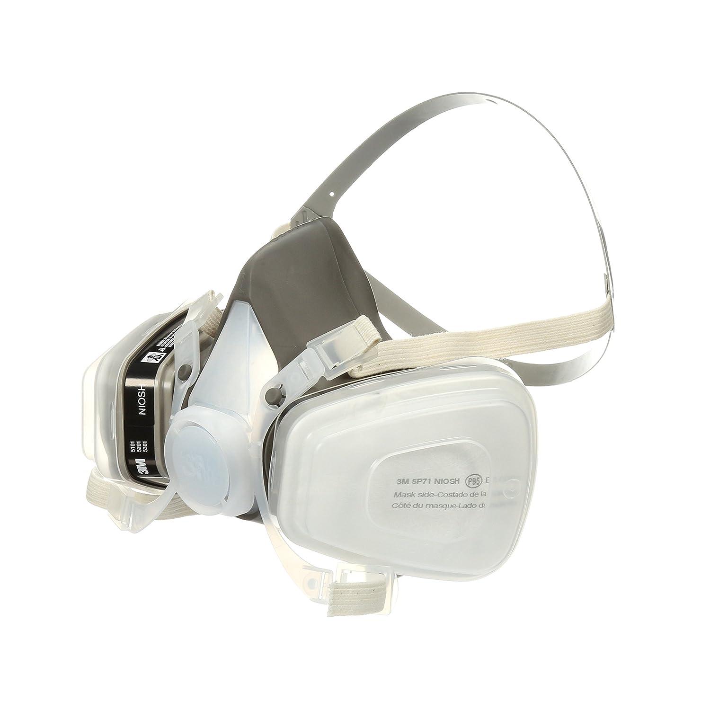 Medium Organic Vapor//P95 3M Half Facepiece Disposable Respirator Assembly 52P71//66069