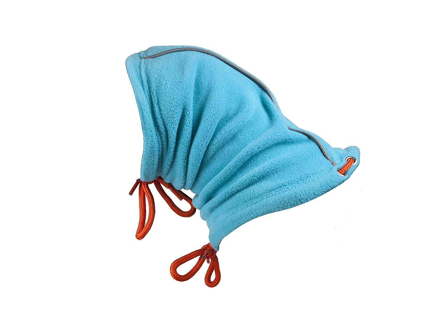 (Small, Teal orange) RC Pet Products Summit Dog Snood, Dog Neck Warmer