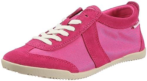 Buffalo London Zapatillas Textil Suede Frambuesa 38: Amazon.es: Zapatos y complementos