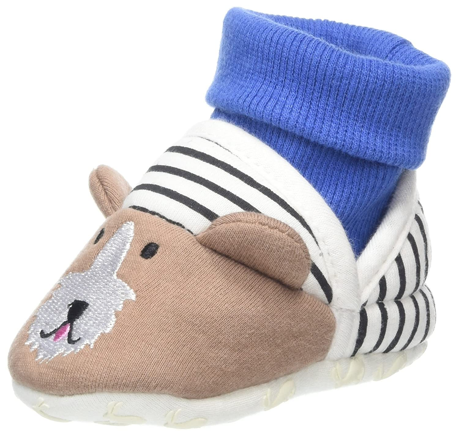 Joules Baby Boys' Nipper Slipper Multicolour (Dog) X_BABYNPRSLPB