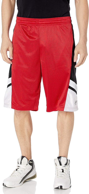 Southpole Men's Big and Tall Basic Basketball Mesh Shorts