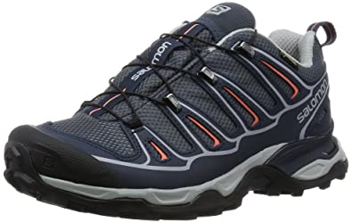 Salomon Ellipse 2 Gtx W Gris-Bleu - Chaussures Baskets basses Homme