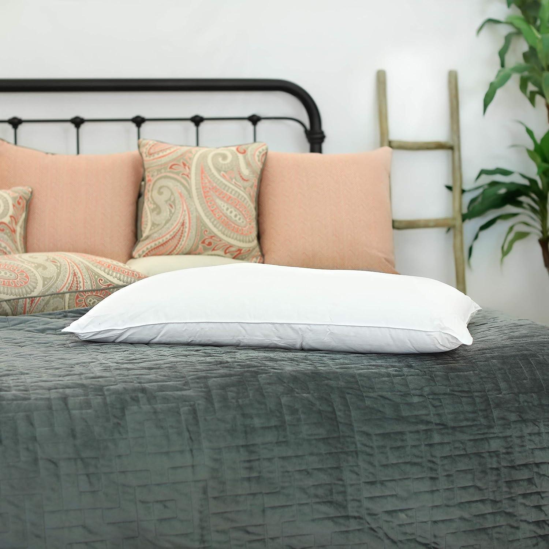 Silk Bedding Direct Almohada RELLENA DE Seda Hebras Largas de Seda de Morera. 90cm x 50cm. Hipoalergénica. CERTIFICACIÓN: Oeko-Tex®. Precio DE Venta BAJO