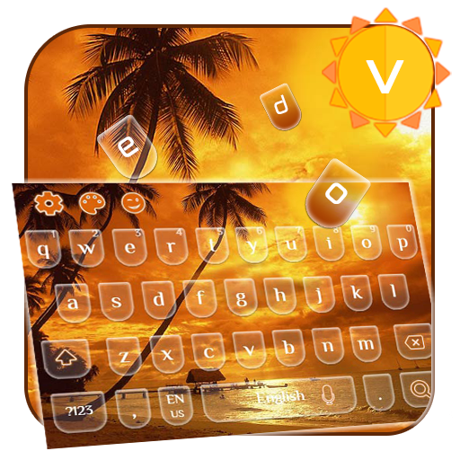 Summer 2D Keyboard (Mobile Micromax)