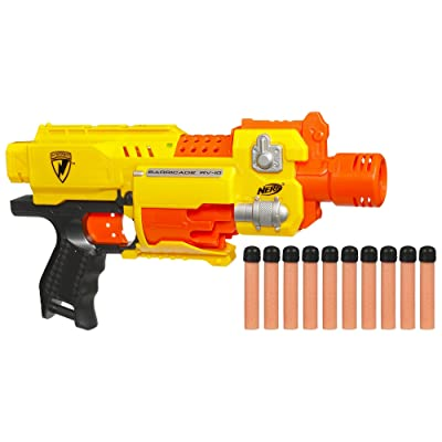 Nerf N-Strike Barricade RV-10: Toys & Games