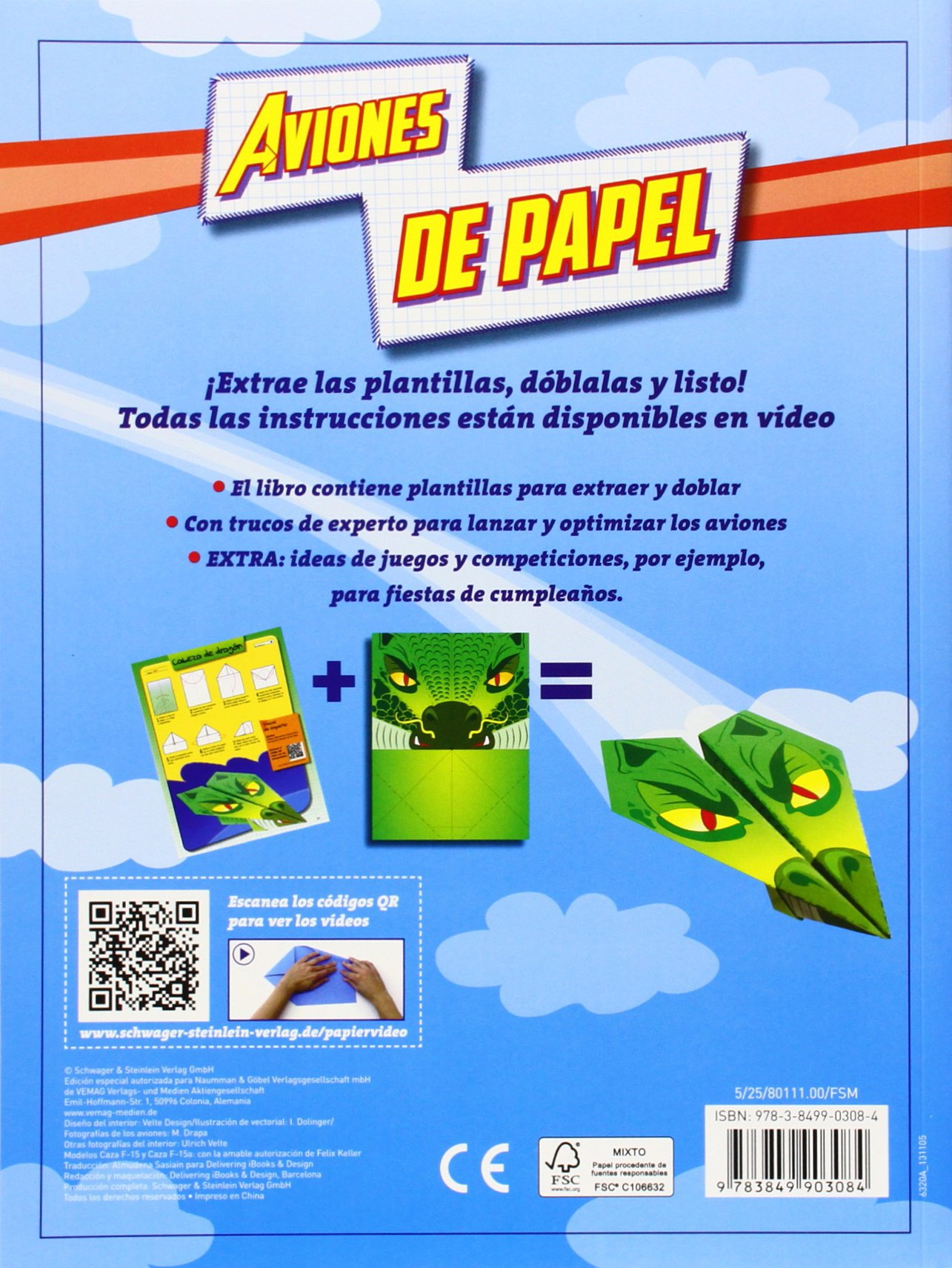 AVIONES DE PAPEL - NGV: VV.AA.: 9783849903084: Amazon.com: Books