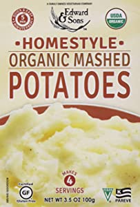 Edward & Sons, Potatoes Mashed Homestyle Organic, 3.5 Ounce