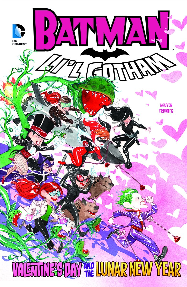Valentine's Day and the Lunar New Year (DC Comics: Batman: Li'l Gotham)