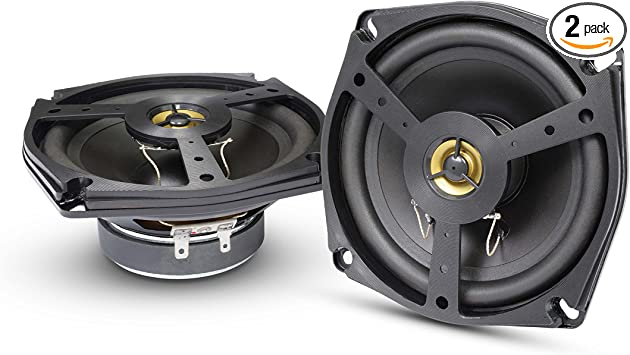 Show Chrome Accessories 13-102 4 1//2 2-Way Speakers