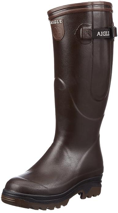 invicto x verse bien zapatos venta moda mejor valorada Aigle Parcours ISO Brun, Botas de Agua Unisex, Marrón, 45 EU ...