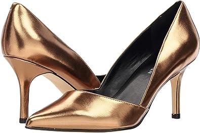 ac38692325 Amazon.com   Marc Fisher LTD Women's Tuscany 2 Bronze Metallic Nappa ...