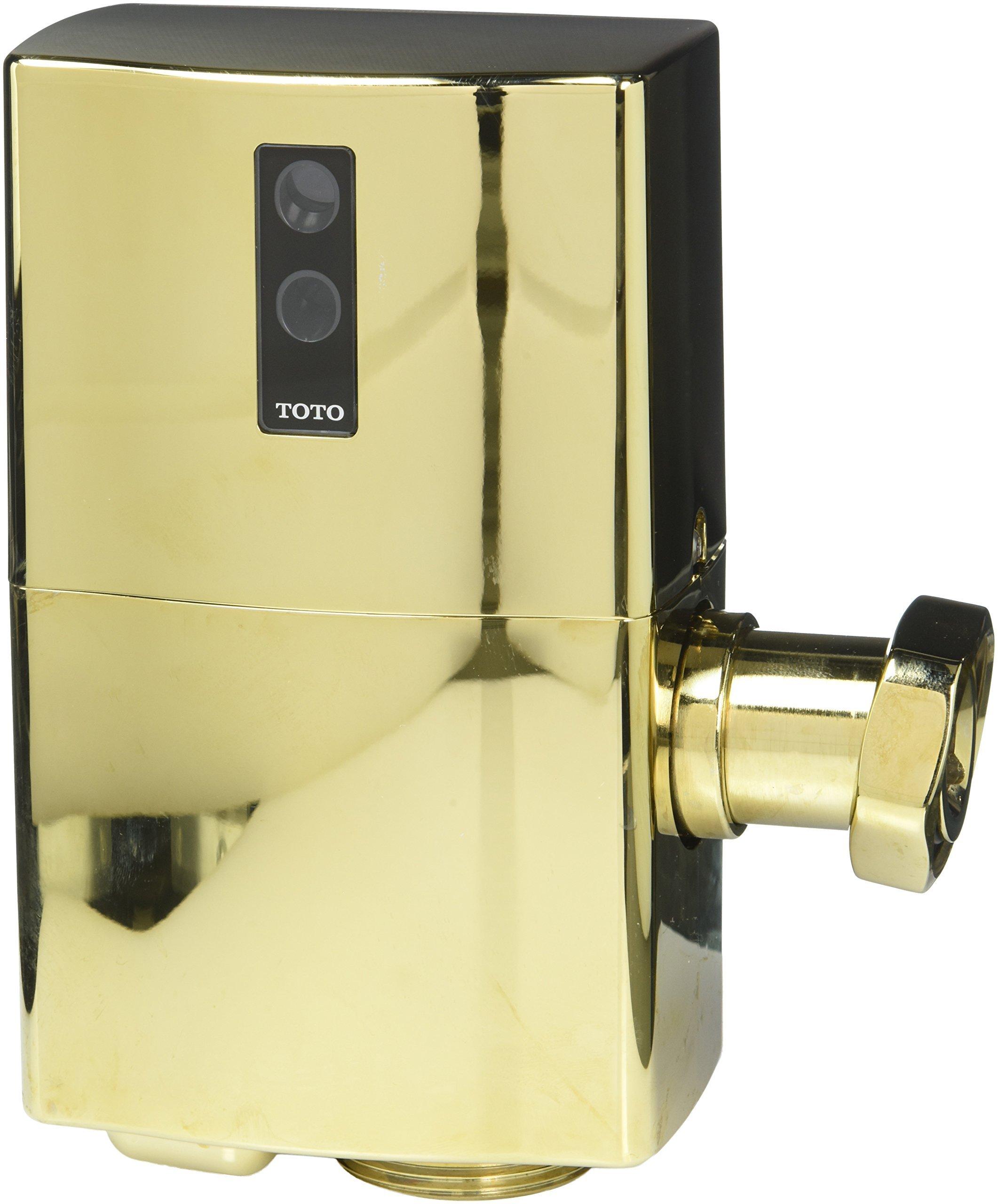 Toto TET1GNB EcoPower Toilet Flushometer Valve Only, Polished Brass