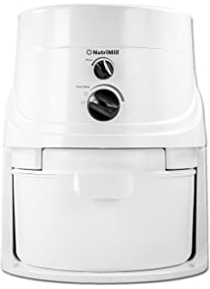 Genial NutriMill Classic 760200 High Speed Grain Mill, 1200 Watt, 5 Cups Per Minute