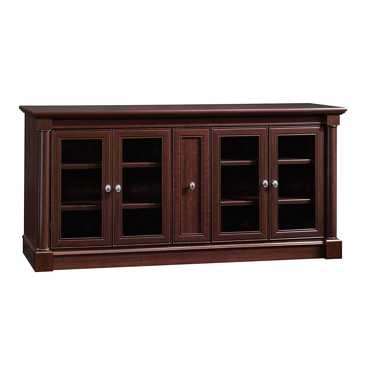 Sauder Palladia Credenza, For TV s up to 70 , Select Cherry finish
