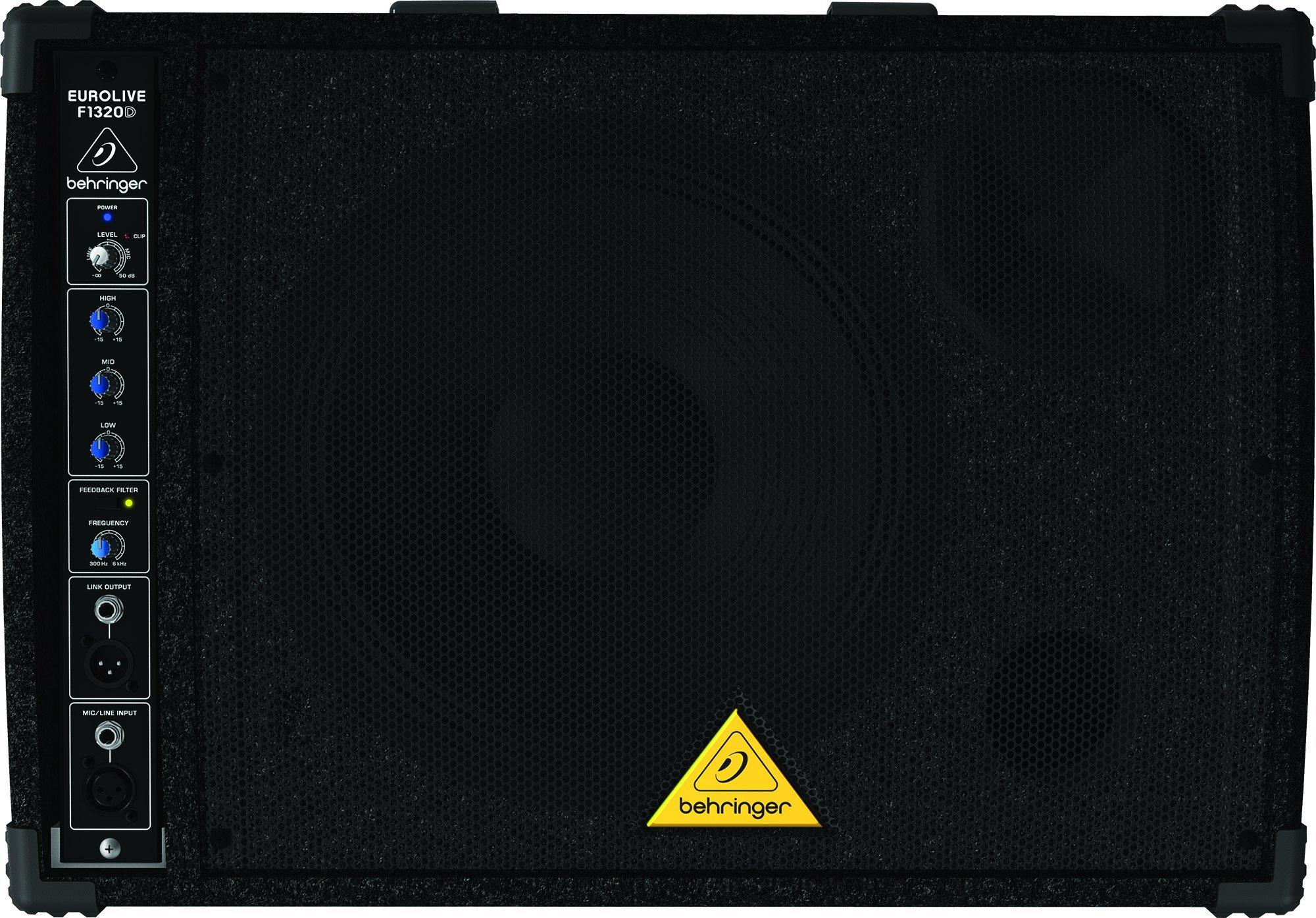Behringer Eurolive F1320D Active 300-Watt 2-Way Monitor Speaker System by Behringer