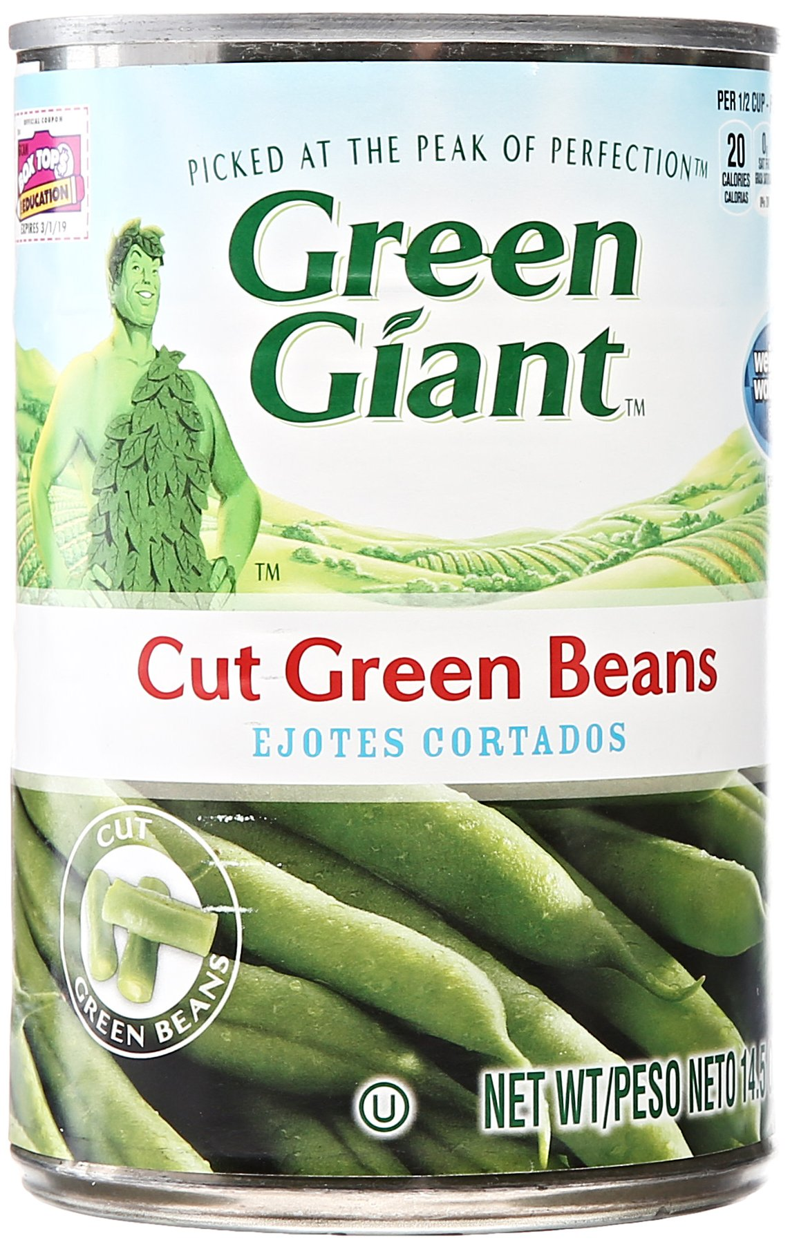 Green Giant Green Beans Cut, 14.5 oz by Green Giant