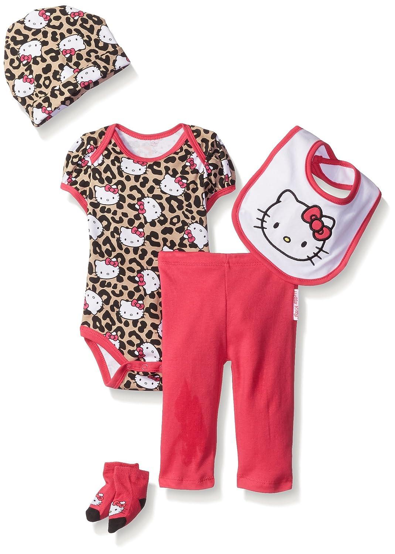Hello Kitty Baby-Girls Baby Baby Gift Set Pink 0-6 Months Hello Kitty Baby Child Code KL0449AM
