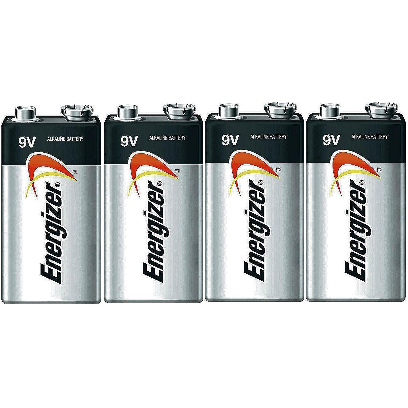 Energizer E522 Max 9V Alkaline battery Exp. 12/22 or later - 4 Count