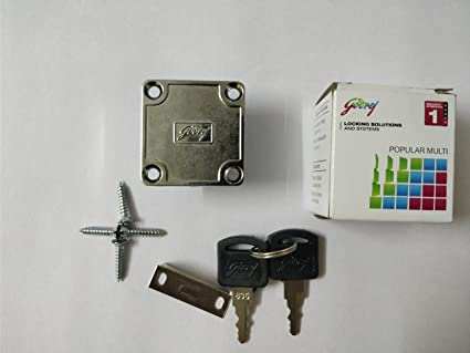 Godrej Furniture Lock Multipurpose For Drawers , Cupboards Etc