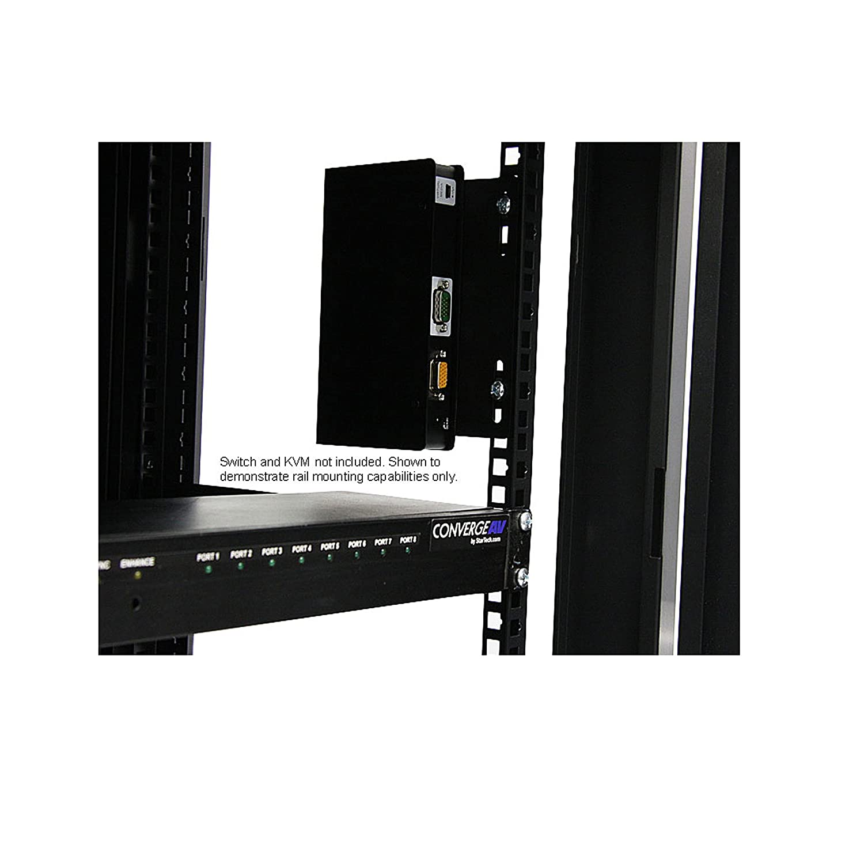server equipment pin wall cabinet enclosure swinging rack lite hing tripp mount