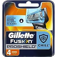 Gillette Fusion ProShield Chill Men's Razor Blades, 4 Count