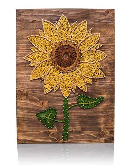 Amazon String Art Kit Sunflower String Art Arts And Crafts Cool String Art Patterns