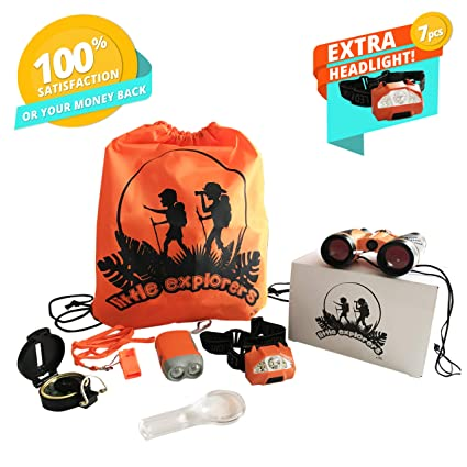 Kids Camping Gear-Outdoor Exploration Learning Set for Boys/Girls Age 2 3 4 Amazon.com: