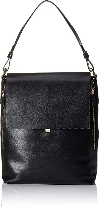 BREE Collection Damen Chicago 10, Black, Backpack L Business