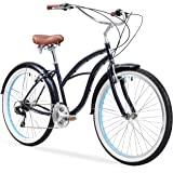 "sixthreezero Women's Single Speed Beach Cruiser Bicycle, 26"" Wheels/17 Frame"