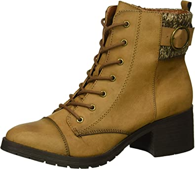 Rampage Women's Krista Lace-Up Chunky