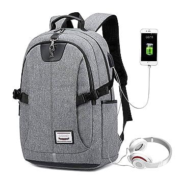 Rucksack für Männer Damen 15,6 Zoll Notebook Laptop Schulrucksack ergonomisch
