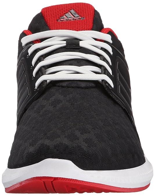 Amazoncom  Adidas Performance Mens Solar RNR M Running Shoe Black Black Scarlet  Red 75 M US  Road Running