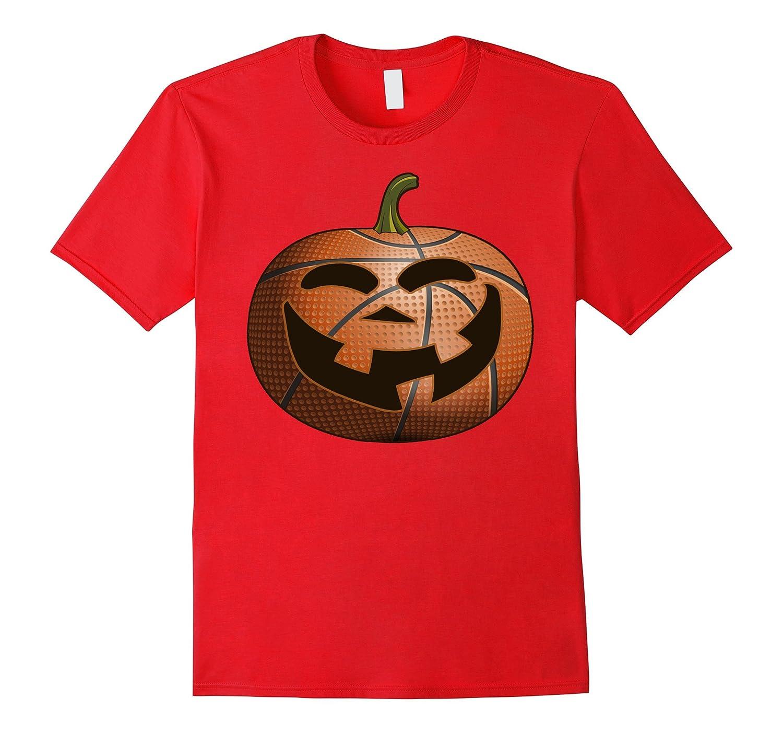 Basketball Pumpkin Halloween T-Shirt Gift Basketbal Lovers-TJ