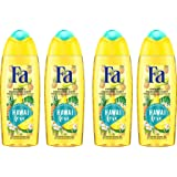 Fa Island Vibes Hawaii Love Gel Douche Flacon 250 ml - Lot de 4