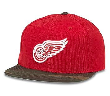 5336c3f37f1 NHL American Needle Sundown Camo Adjustable Snapback Hat (Detroit Red Wings)