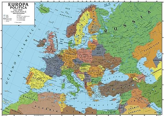 Cartina Muta Dell Europa Fisica Da Stampare.Cum Se Cuvine Pe Politie Carta Geografica Fisica Amazon Mariacastrojato Com