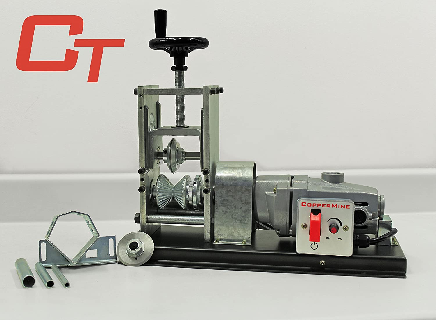 Powered Copper Wire Stripping Machine Newest Tabletop Wire ...