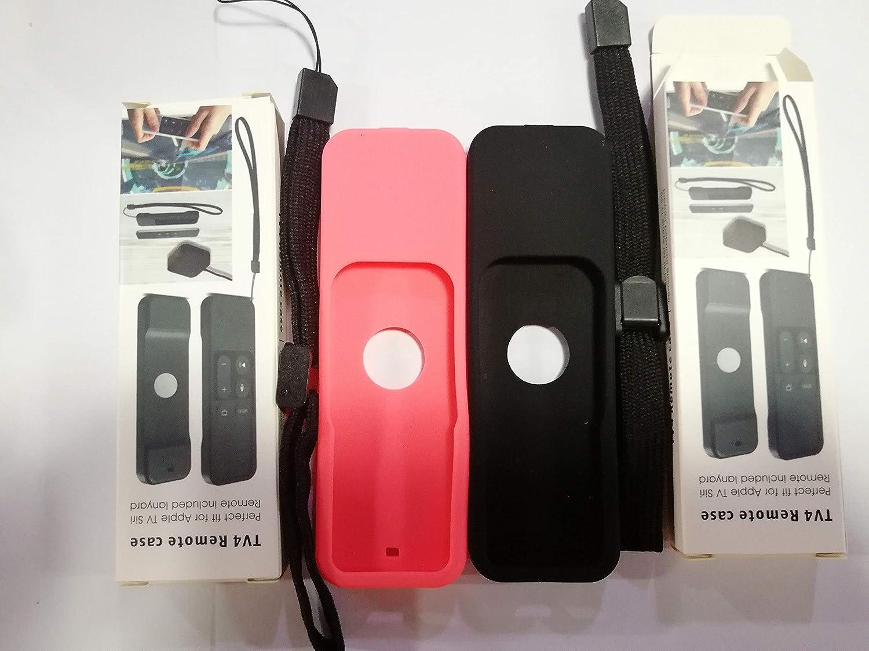 Amazon com: 2 Pcs homEdge Apple TV Remote Control Cover Case