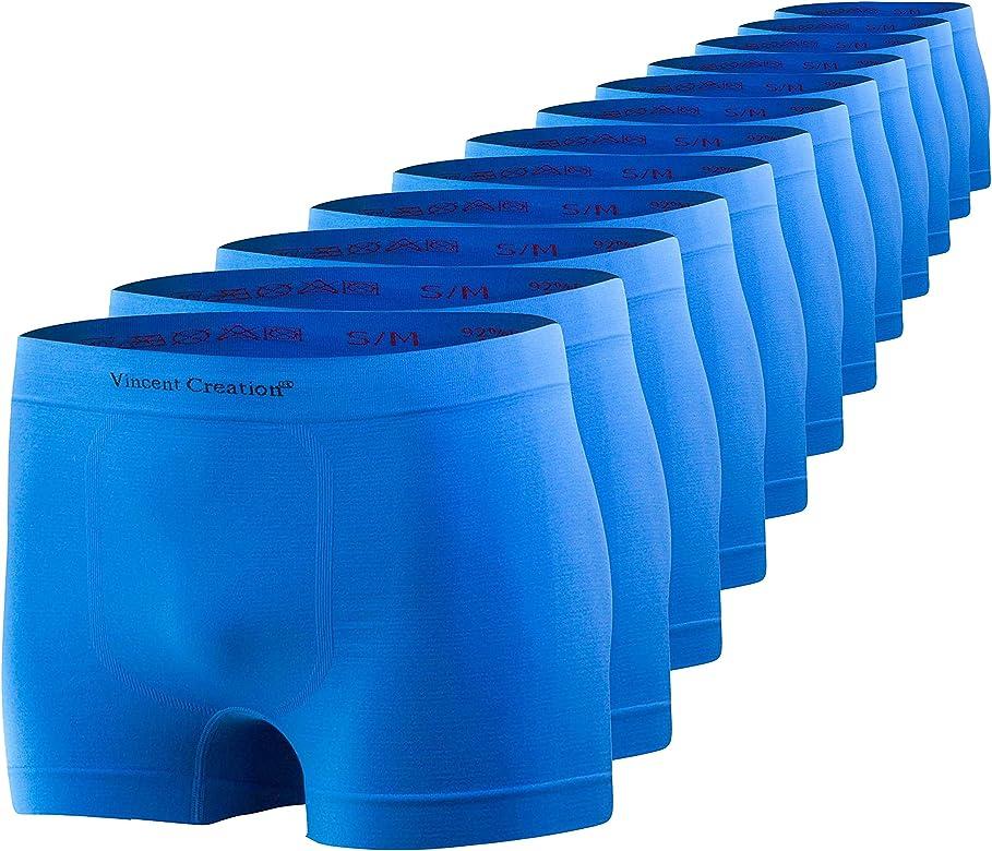 Vincent Creation - Pack de 12 calzoncillos tipo bóxer para hombre ...