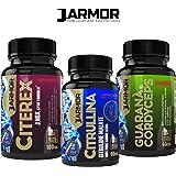 3 prodotti per vigore sessuale e massa muscolare Citerex + Citrullina + Guarana