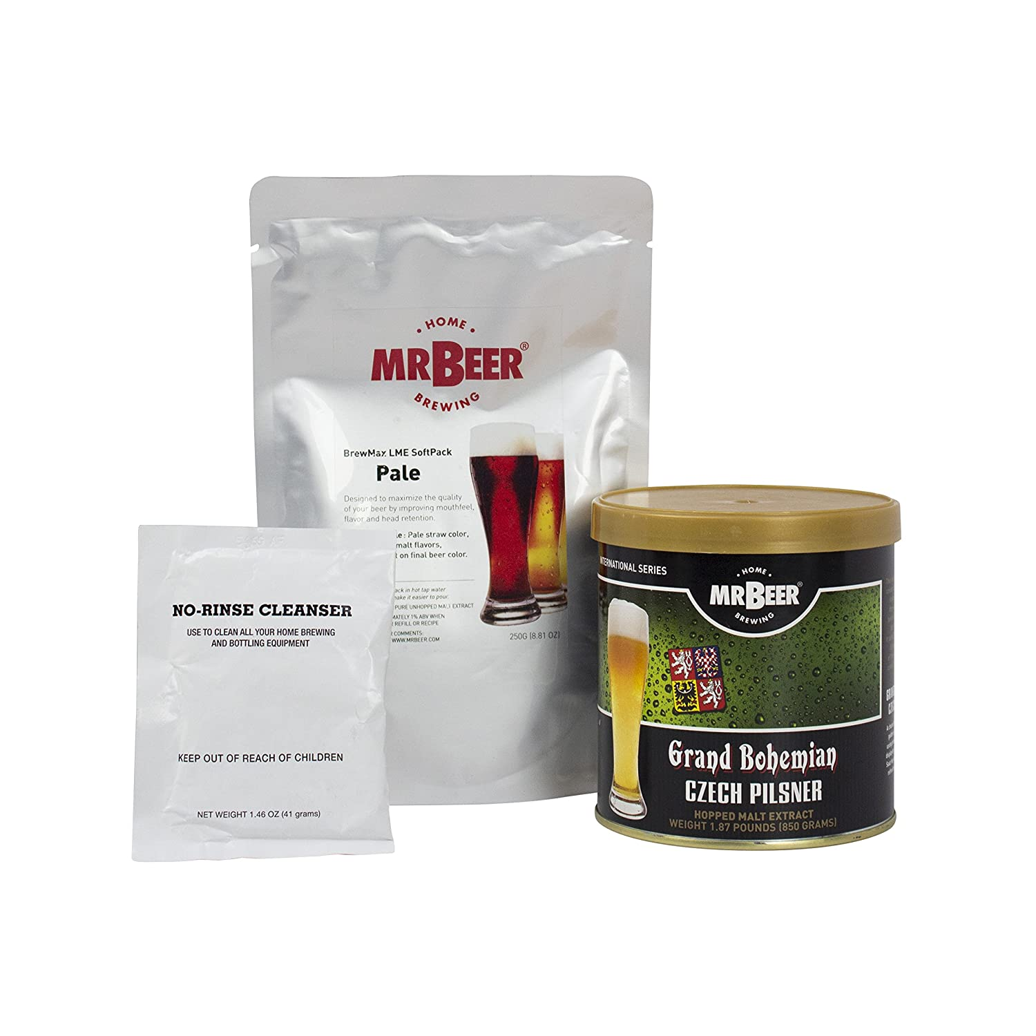 Mr. Beer Oktoberfest Lager Deluxe Home Brewing Beer Refill Kit 62964