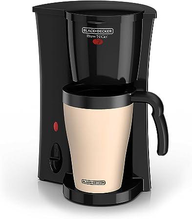 Amazon.com: Cafetera personal con taza para viaje DCM18S ...