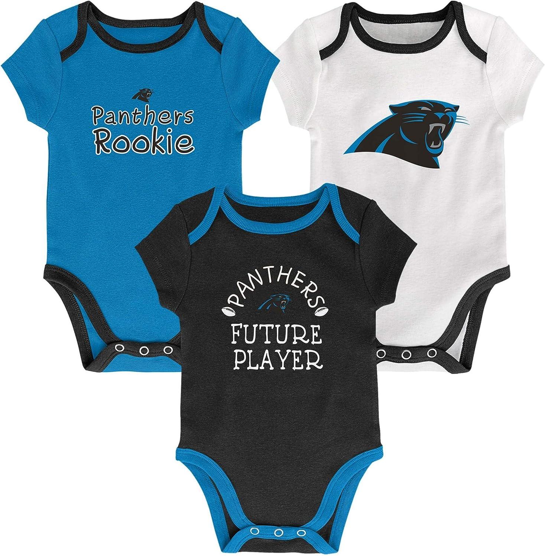 OuterStuff NFL Newborn Infants Assist 3 Piece Creeper Bodysuit Set